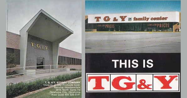 TG&Y Pictures from an old brochure